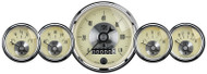 Auto Meter Prestige Antique Ivory 5 pc Gauge Kit with Wheel Odometer - 2002
