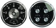 Auto Meter Prestige Black Diamond 2 pc Gauge Kit 2005