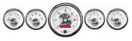 Auto Meter Prestige Pearl 5 pc Gauge Kit w/LCD Odometer - 2006