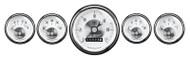 Auto Meter Prestige Pearl 5 pc Gauge Kit Wheel Odometer 2007
