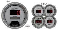 Auto Meter Ultra-Lite Digital 5 pc Gauge Set 6500