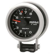 "Auto Meter Sport-Comp 3-3/4"" Pedestal Tach Gauge with red line 3780"