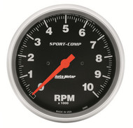 "Auto Meter 5"" In-Dash Tachometer 0-10,000 RPM - 3990"