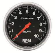 """Auto Meter 5"""" In-Dash Tachometer 0-10,000 RPM - 3990"""