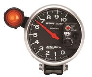"Auto Meter Sport Comp 5"" Pedestal Tachometer with Ext Shift-Lite 3904"