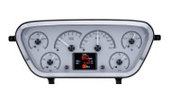 Dakota Digital 53 54 55 Ford Pickup Truck Analog Gauge System HDX-53F-PU
