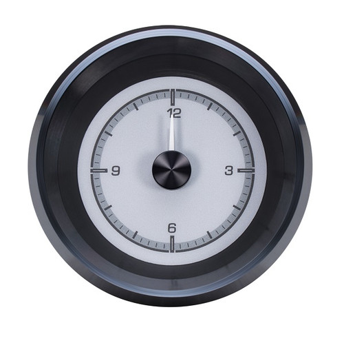 HLC-63C-VET-S with SILVER ALLOY style Analog Clock Gauge