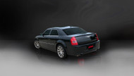 "Corsa 14440BLK Xtreme Black Single 4.0"" Dual Rear Cat-Back for 2005-2010 Dodge Charger SRT-8  6.1L V8"