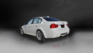 "Corsa 14569BLK Sport Black Twin 3.0"" Dual Rear Cat-Back for 2008-2012 BMW M3 E90"