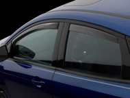 WeatherTech 2013-2016 Ford Focus ST Dark Smoke Window Deflector In-Channel Front & Rear 82573 - WeatherTech