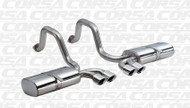 "Shop JBO's Special Deals on Corsa 14111 Polished Sport Twin 3.5"" Dual Rear Axle-Back for your 1997-2004 Chevy Corvette C5  5.7L V8  today, call 1-844-JBO-BOLT."