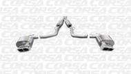Corsa 14424 Xtreme Polished GTX2 Dual Rear Cat-Back for 2011-2013 Dodge Challenger SRT-8  6.4L V8 Manual