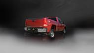 "Corsa 24796 Sport Polished Single 4.0"" Single Side Cat-Back for 2011-2013 GMC Sierra 2500 Extended Cab-Long Bed 6.0L V8"