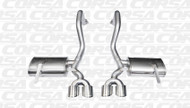 "Shop JBO's Special Deals on Corsa 14961 Polished Xtreme Twin 4.0"" Dual Rear Axle-Back for your 1997-2004 Chevy Corvette C5  5.7L V8  today, call 1-844-JBO-BOLT."