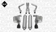 """Corsa 14463BLK Sport Black Single 4.5"""" Dual Rear Cat-Back for 2012-2013 Dodge Charger SRT-8  6.4L V8"""