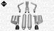 "Corsa 14535BLK Sport Black Single 4.5"" Dual Rear Cat-Back for 2011-2014 Chrysler 300   5.7L V8"