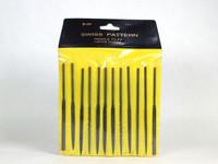Set of 12 Swiss Pattern Needle Files