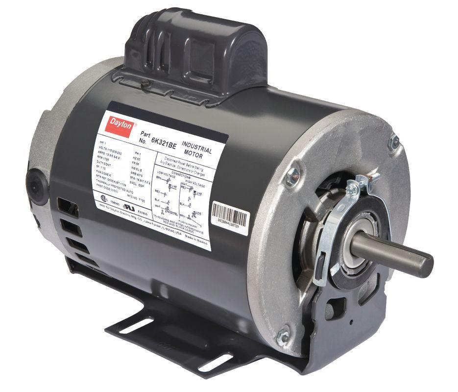 110v 60hz 1 hp capacitor start motor covington engineering