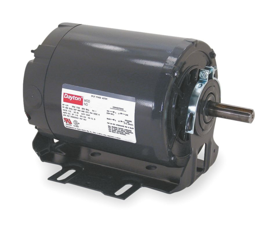 220v 50hz 1 3hp Split Phase Commercial Duty Motor