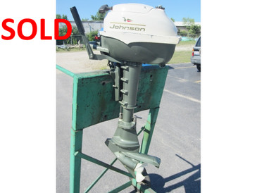 "Used Johnson 3 HP Folding - 15"" Shaft, Tiller - SOLD"