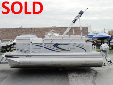 Used Qwest LS 7516 Cruise Pontoon Boat - 2016 - SOLD