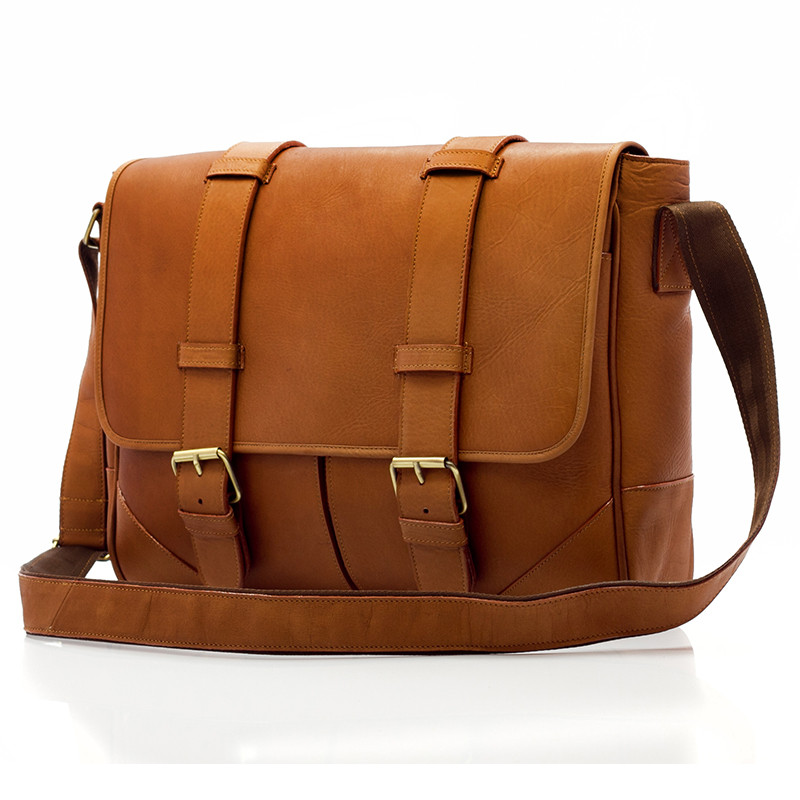 Dublin Stylish leather Laptop Messenger Bag