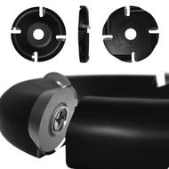"""4.5 """" - 4 Slot Carbide Round Disc"""