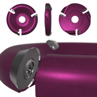 4'' 3 Slot Carbide Round (#31)
