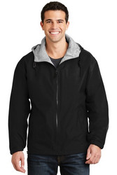 Black Sport-Tek® 8.8-ounce, 100% polyester microfleece lining for added warmth Design printed on back Personalization on left Chest optional Name / number example Jones #24