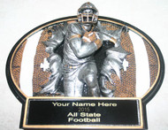 The plaque will have Your name year All State Football