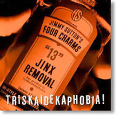 Jimmy Suttons Four Charms - Triskaidekaphobia