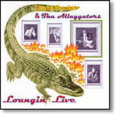 """Loungin' Live"" blues CD by David Booker & The Alleygators"