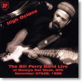 """High Octane"" blues CD by The Bill Perry Band"