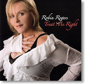 """Treat Me Right"" blues CD by Robin Rogers"