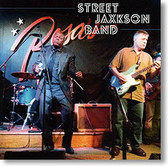 """Self Titled"" blues CD by Street Jaxkson Band"