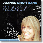 """Wicked Cool"" blues CD by Joanne Broh Band"