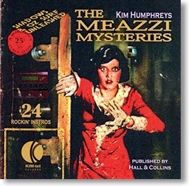 """The Meazzi Mysteries"" blues CD by Kim Humphreys"
