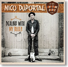 """""""Dealing With My Blues"""" blues CD by Nico Duportal"""