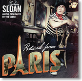 """Postcard From Paris"" blues CD by Jackson Sloan and The Drew Davies Rhythm Combo"
