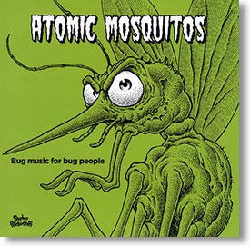 """Bug Music For Bug People"" surf CD by Atomic Mosquitos"