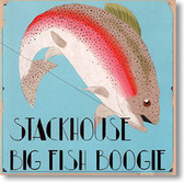 """Big Fish Boogie"" blues CD by Stackhouse"