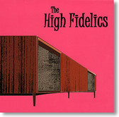 """""""Self Titled"""" surf CD by The High Fidelics"""