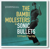 """""""Sonic Bullets, 13 From The Hip"""" surf CD by The Bambi Molesters"""