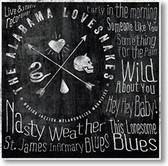 """""""Nasty Weather"""" blues CD by The Alabama Lovesnakes"""