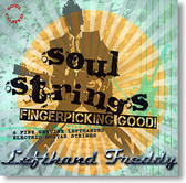 """Soul Strings"" blues CD by Lefthand Freddy"