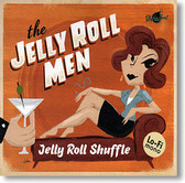 """Jelly Roll Shuffle"" blues CD by The Jelly Roll Men"
