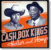 """Holler and Stomp"" blues CD by The Cash Box Kings"