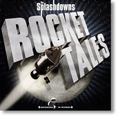 """Rocket Tales"" surf CD by The Splashdowns"