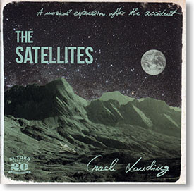 """Crash Landing"" blues CD by The Satellites"