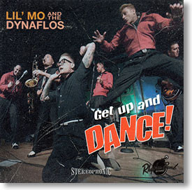 """Get Up And Dance!"" blues CD by Lil' Mo & The Dynaflos"